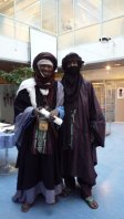 Almoustapha Tambo ja Elhadji Koumama